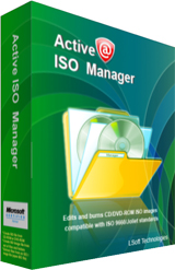 Active@ ISO Manager box